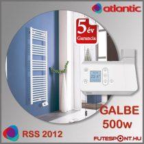 Atlantic RSS 2012 GALBE 500W - íves elektromos  törölközőszárító radiátor
