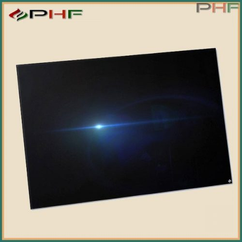 BVF PG 800W edzett üveg infrapanel 60x120x3 cm - fekete