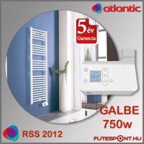 Atlantic RSS 2012 GALBE 750W - íves elektromos  törölközőszárító radiátor