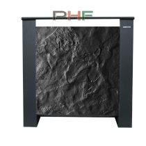 Climastar ETNA 1500W - hordozható kerámia elektromos fűtőpanel-fekete pala