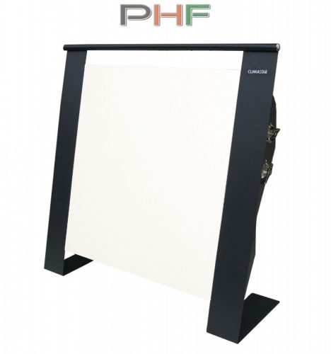 Climastar ETNA 1500W - hordozható kerámia elektromos fűtőpanel-fehér kasmír