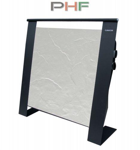 Climastar ETNA 1500W - hordozható kerámia elektromos fűtőpanel- fehér pala