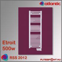 Atlantic RSS 2012 Etroit - 500W - elektromos törölközőszárító, 40 cm széles, fehér