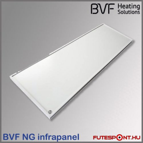 BVF NG 300W Slim infrapanel (30x90cm) - fehér, alumínium keret