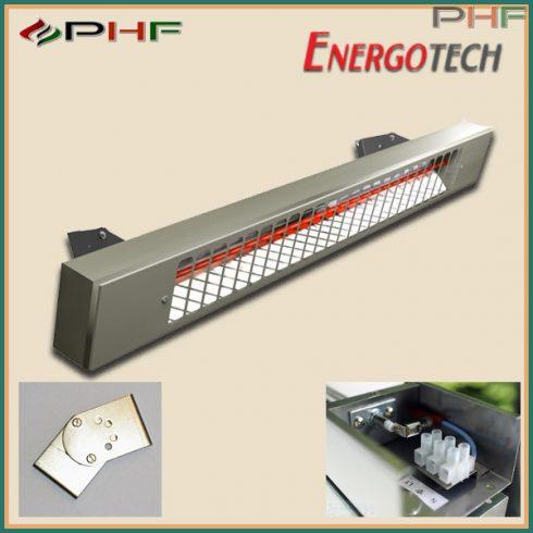EnergoInfra EIR1500 - 1500W infra hősugárzó inox házban