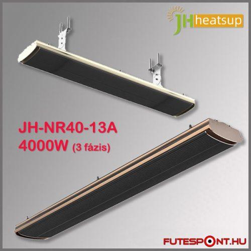 JH-NR40-13A 4000W infra sötétsugárzó, fekete - 3 fázis