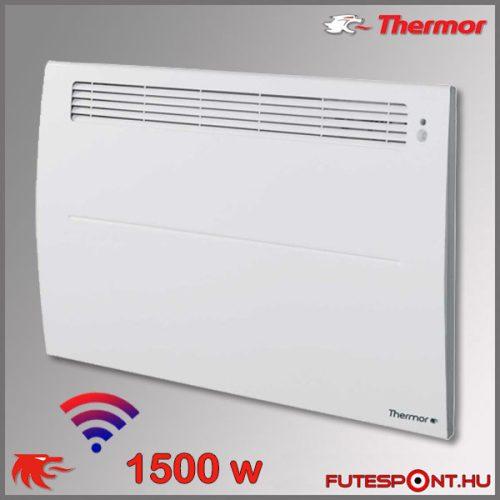Thermor Soprano Sense2 WIFI 1500W - elektromos fűtőpanel - programtermosztát - jelenlétérzékelő