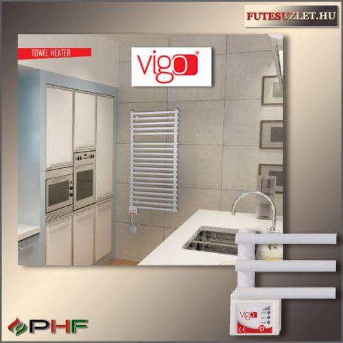 VIGO  600W - elektromos törölközőszárító radiátor, fehér vagy inox