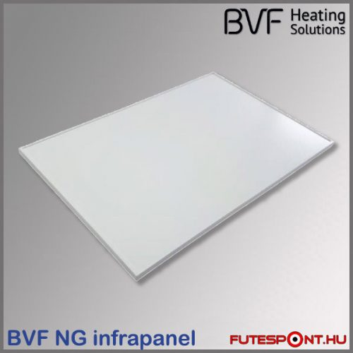 BVF NG 500 W infrapanel (60x90cm) - fehér, alumínium keret