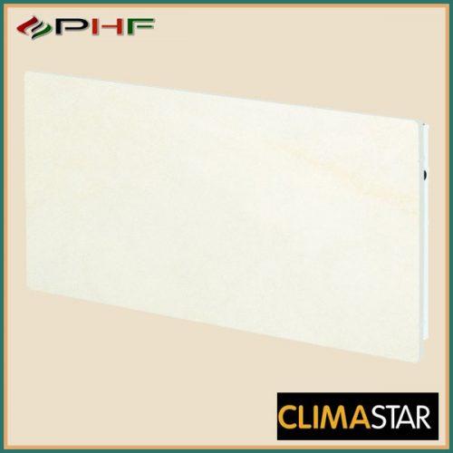 Climastar Smart Touch hőtárolós fűtőpanel fehér mészkő