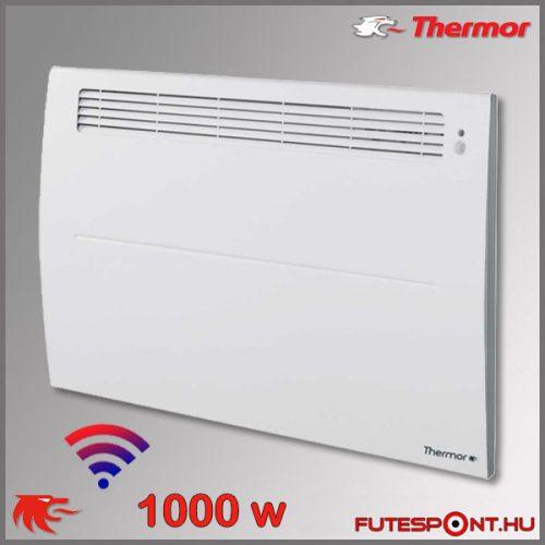 Thermor Soprano Sense2 WIFI 1000W - elektromos fűtőpanel - programtermosztát - jelenlétérzékelő