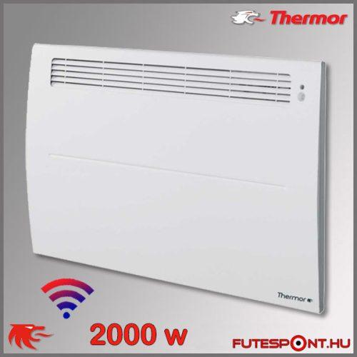 Thermor Soprano Sense2 WIFI 2000W - elektromos fűtőpanel - programtermosztát - jelenlétérzékelő
