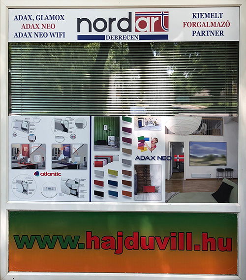 Debrecen elektromos fűtés, Nordart pont
