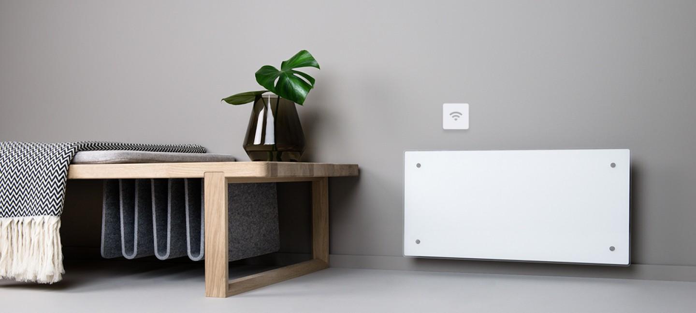 norvég fűtőpanelek, Adax Clea Wifi elektromos fűtőpanel