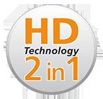 F129D HD technológia