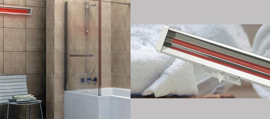 Fürdőszobai gyorsfűtések, infra gyorsfűtés